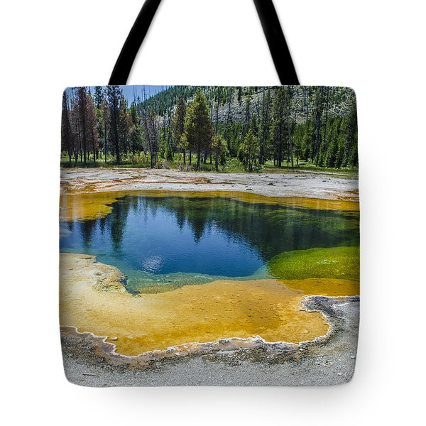 Colors Of Yellowstone Tote Bag