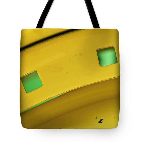 Colors On A Curve Tote Bag by Christi Kraft