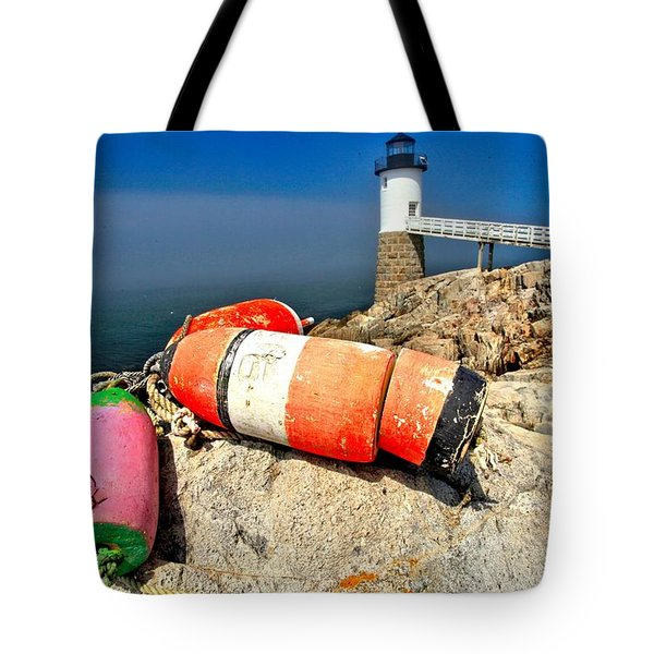 Colors On The Rocks Tote Bag by Adam Jewell