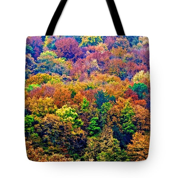 Colors To Winter 2 Tote Bag