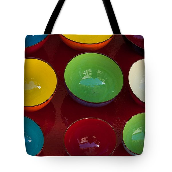 Colors Tray Tote Bag by Dany Lison