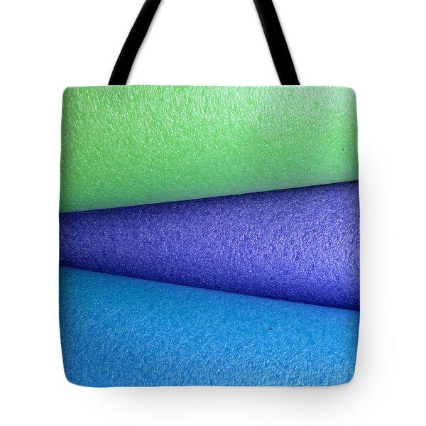 Colorscape Tubes B Tote Bag