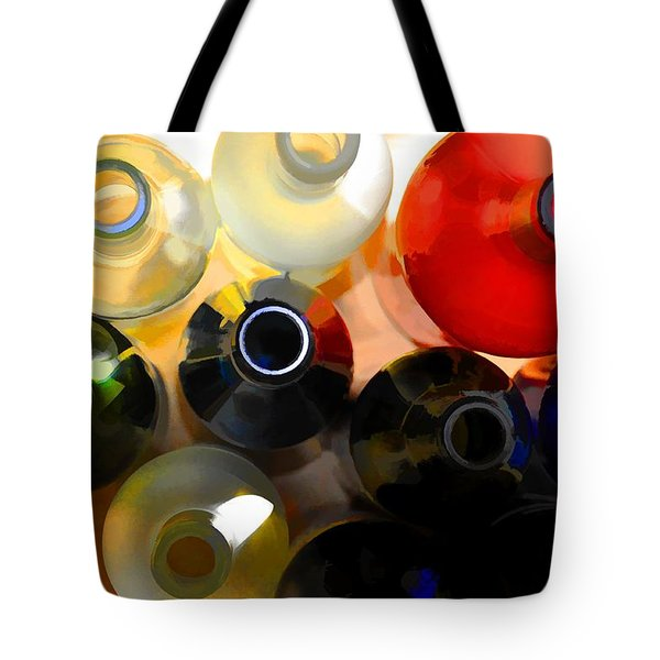 Colorsplash Tote Bag by Jan Amiss Photography