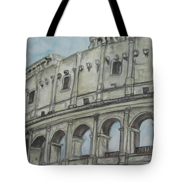 Colosseum Rome Italy Tote Bag