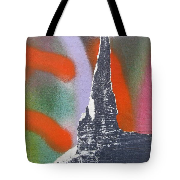 Colour On Wall Tote Bag