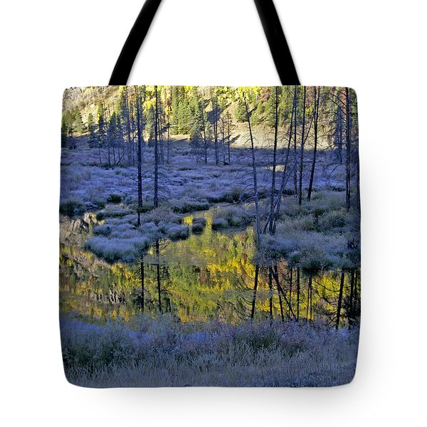 Tote Bag featuring the photograph Colour Palette by Jeremy Rhoades