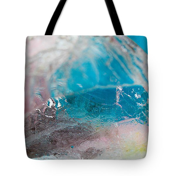 Coloured Ice Creation Print #4 Tote Bag