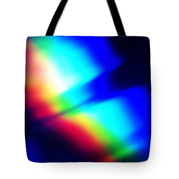 Tote Bag featuring the photograph Coloured Light by Martin Howard