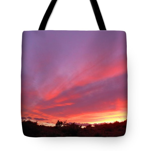 Colourful Arizona Sunset Tote Bag
