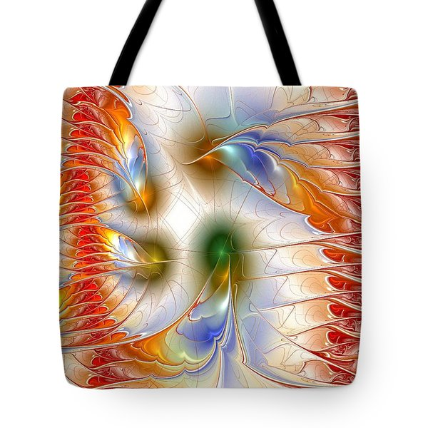 Colourful Emotions Tote Bag by Anastasiya Malakhova