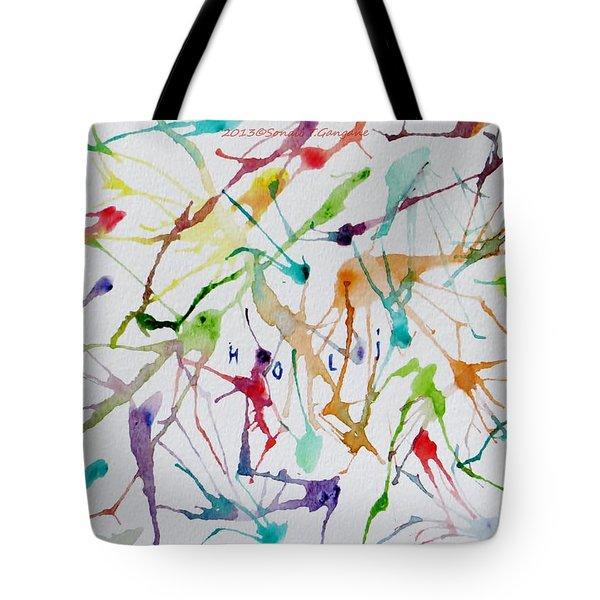 Colourful Holi Tote Bag