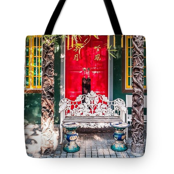 Colourful In Singapore Tote Bag