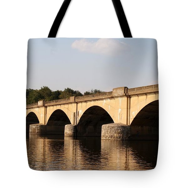 Columbia Bridge Tote Bag by Christopher Woods