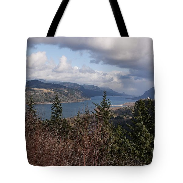 Tote Bag featuring the photograph Columbia Gorge by Belinda Greb