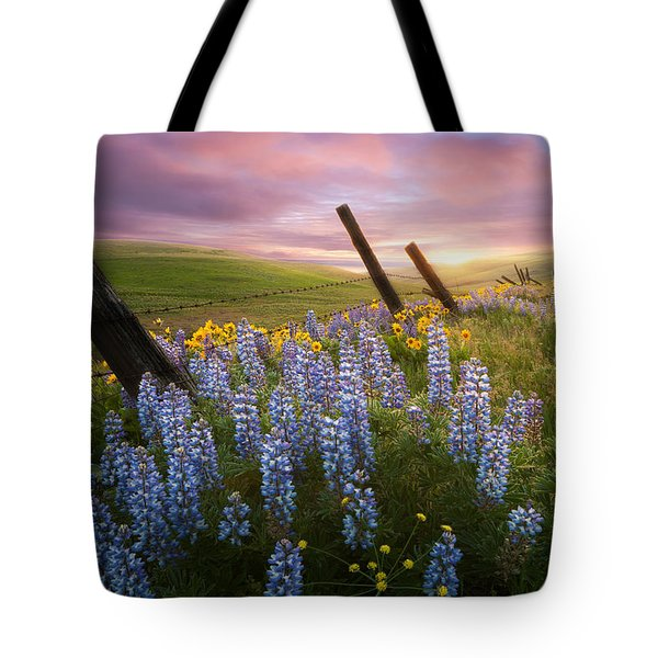 Columbia Hills Sunset Tote Bag