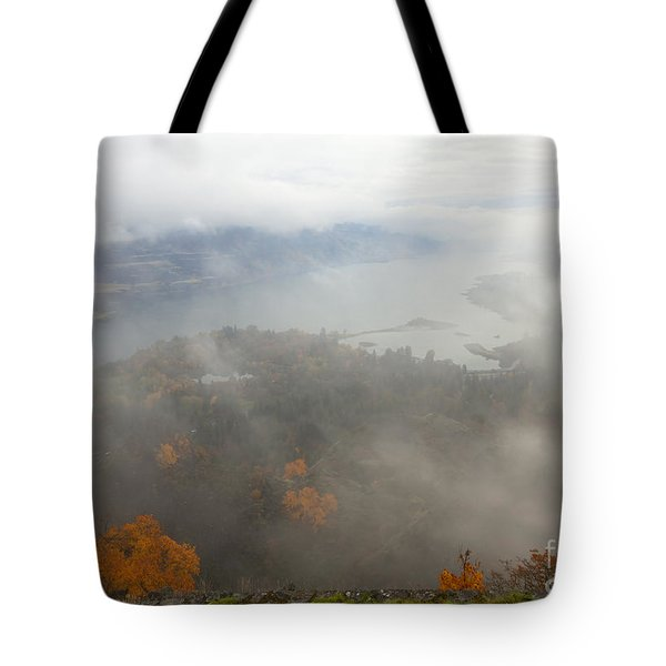 Columbia River Hidden Tote Bag by Mike  Dawson