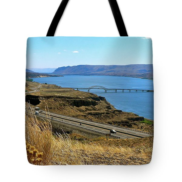 Columbia River Vantage Point Tote Bag