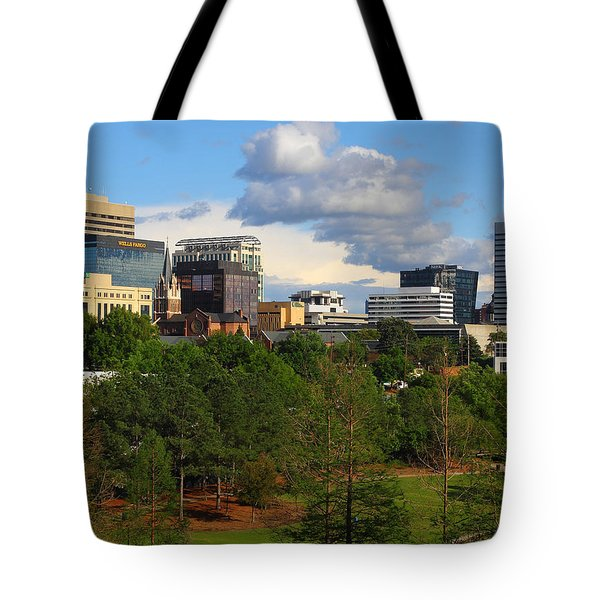 Tote Bag featuring the photograph Columbia Skyline -- 03 25 2012 C by Joseph C Hinson Photography