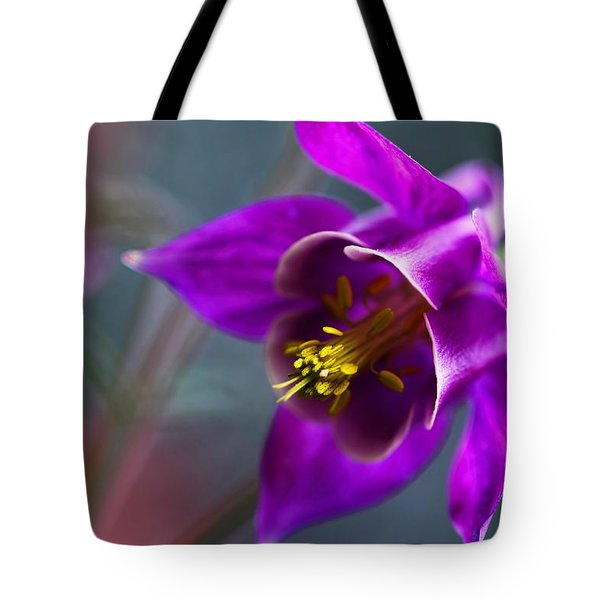 Columbine Abstract Tote Bag