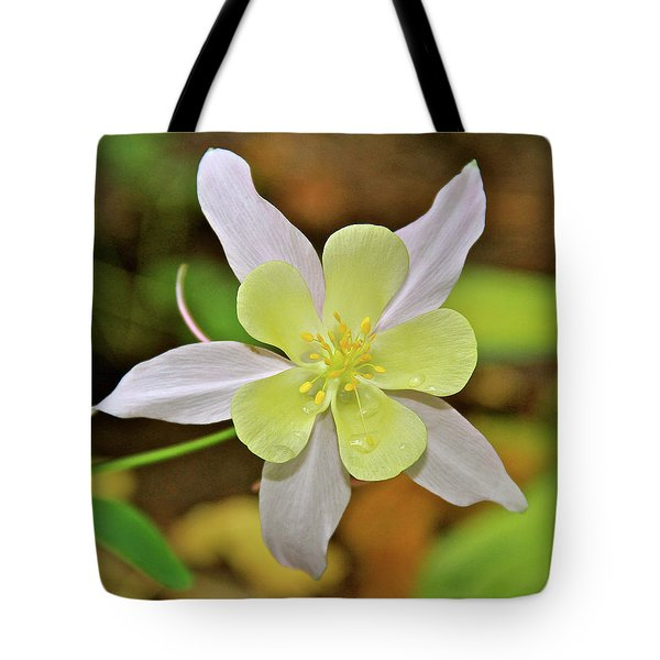 Columbine Charlie's Garden Tote Bag by Ed  Riche