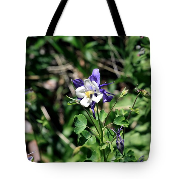 Tote Bag featuring the photograph Columbine by Chris Thomas