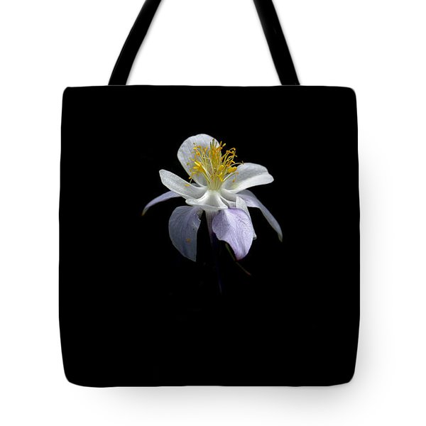 Tote Bag featuring the photograph Columbine by David Andersen