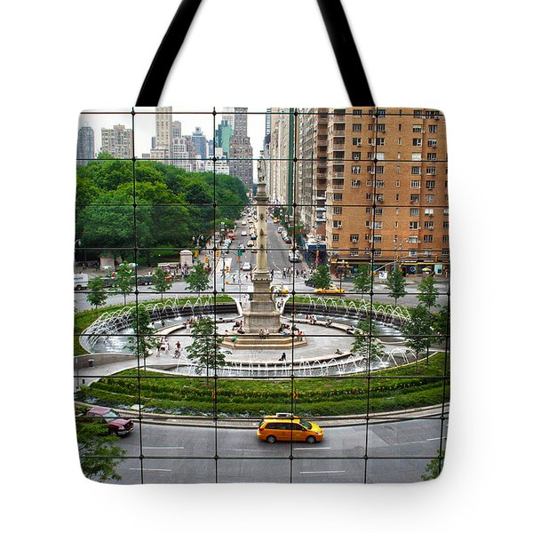 Columbus Circle Tote Bag by Mitch Cat