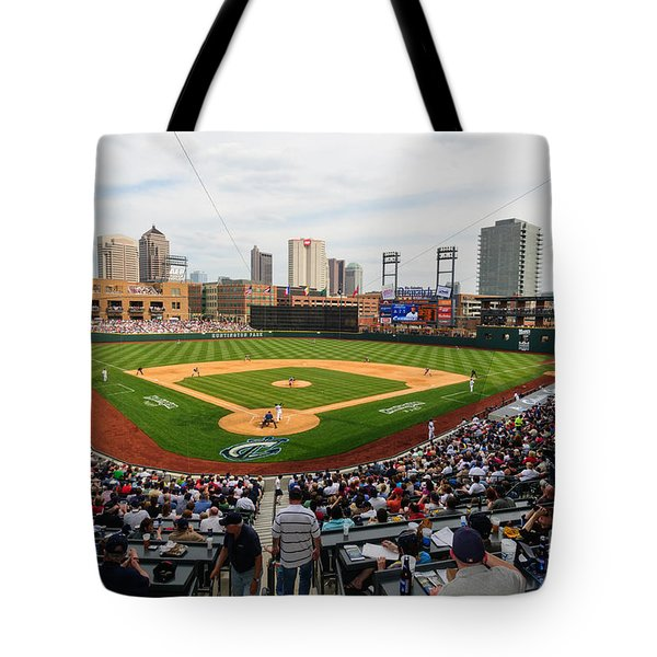 D24w-295 Columbus Clippers Photo Tote Bag