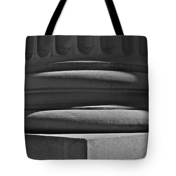 Tote Bag featuring the photograph Column 1 by Linda Bianic