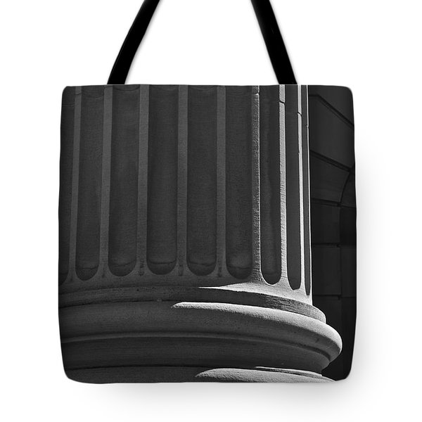 Tote Bag featuring the photograph Column 2 by Linda Bianic