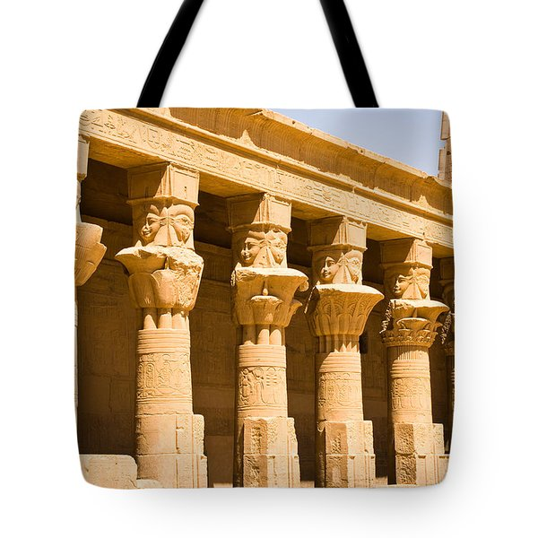 Column Art Tote Bag by James Gay