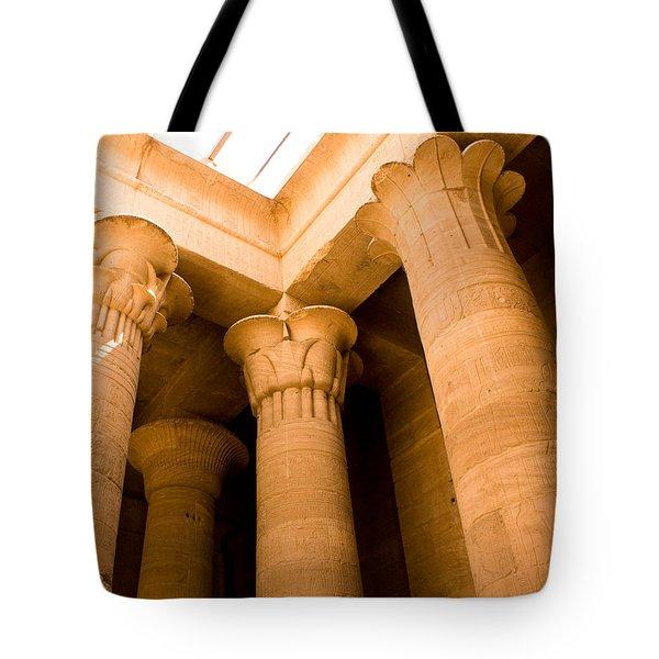 Column Head Art Tote Bag