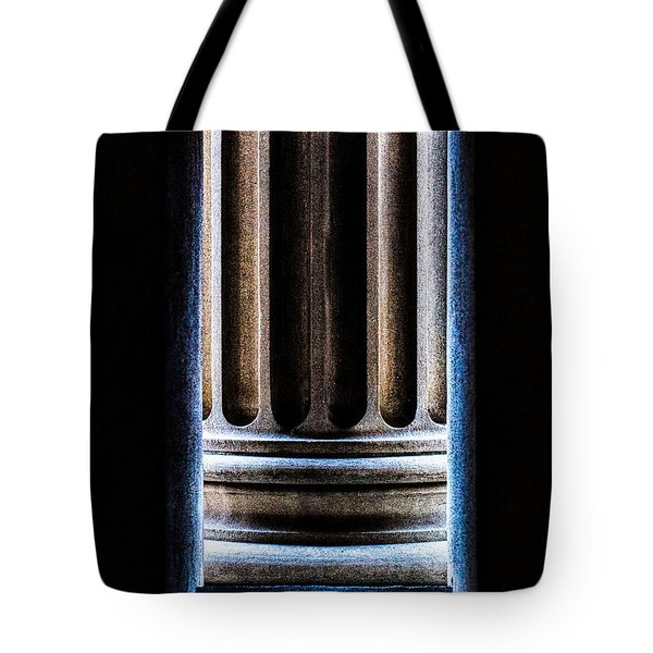 Column Number Nine  Tote Bag