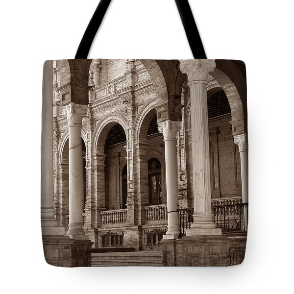 Columns And Arches Tote Bag