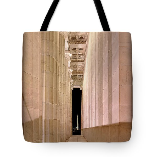 Columns And Monuments Tote Bag