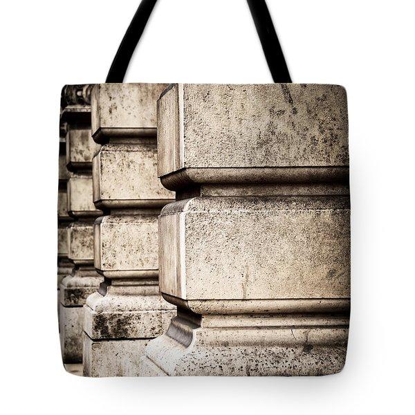 Columns Tote Bag by Elena Elisseeva