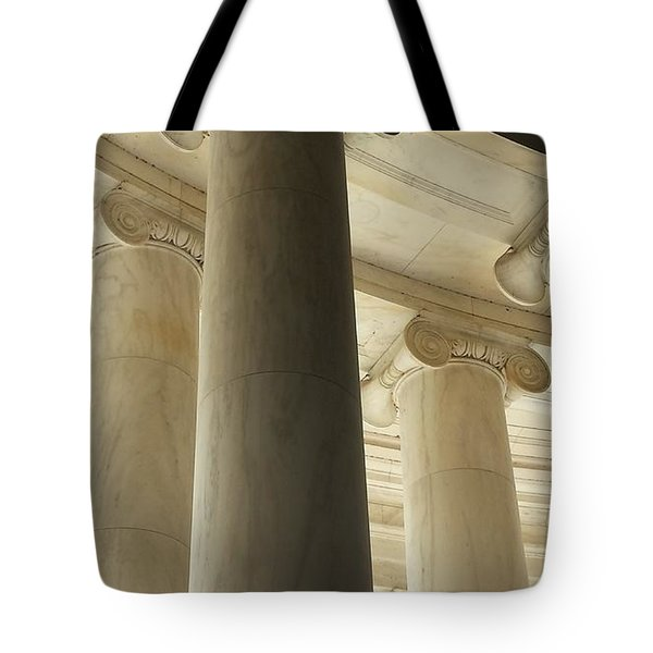 Columns Stand Guard Tote Bag