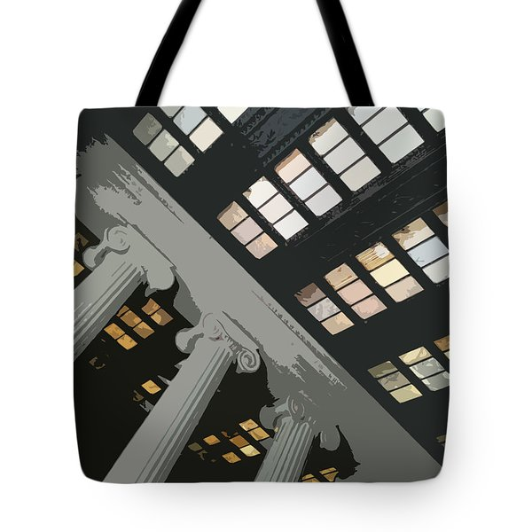 Columns Tote Bag by Julio Lopez