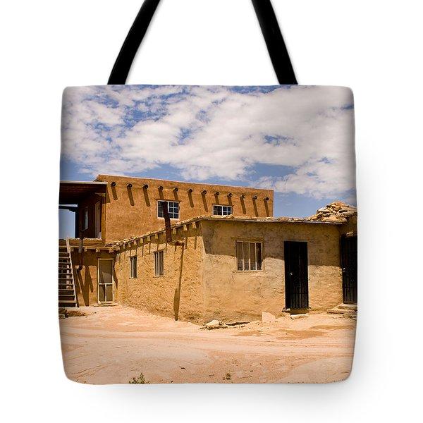 Acoma Pueblo Home Tote Bag
