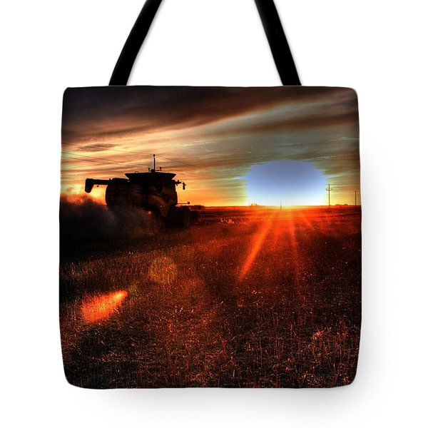 Combine Into The Night Tote Bag