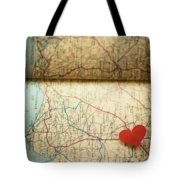 Come Find Me Tote Bag by Jan Bickerton