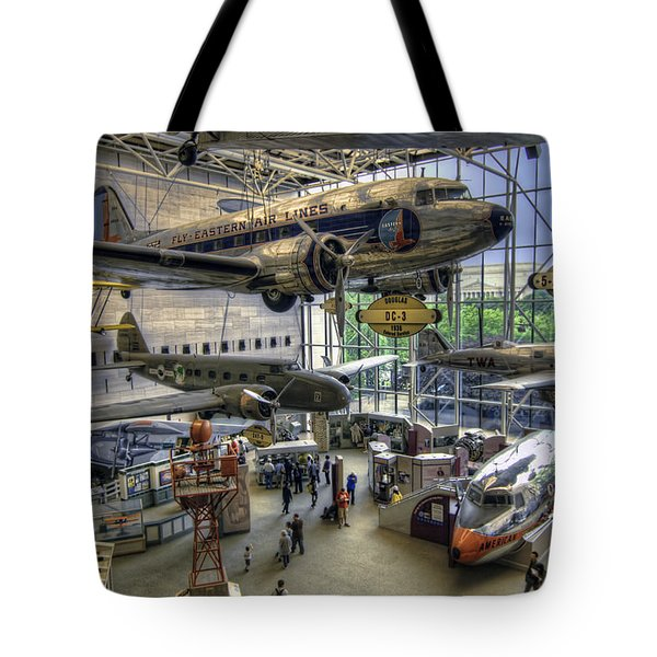 Come Fly With Me Tote Bag by Tim Stanley