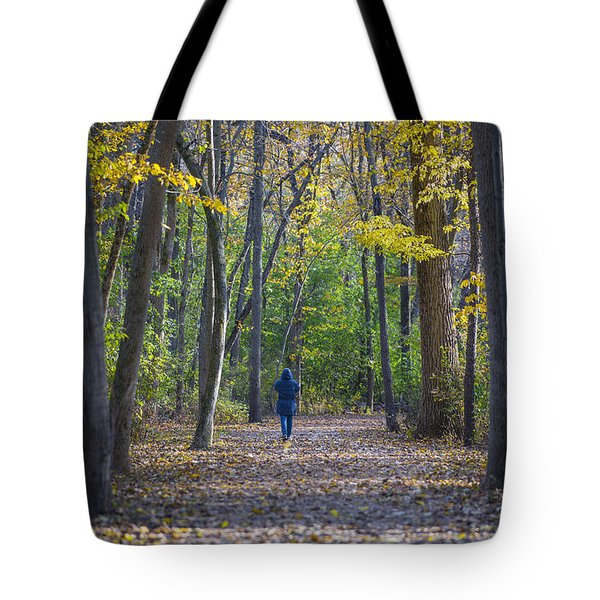 Tote Bag featuring the photograph Come For A Walk by Sebastian Musial