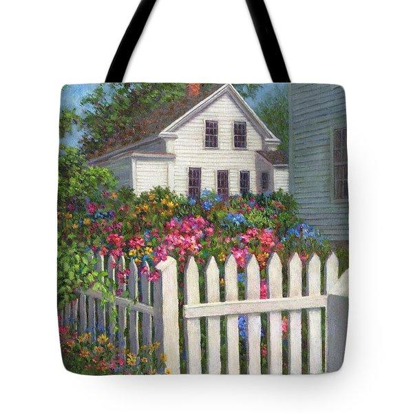 Come Into The Garden Tote Bag by Susan Savad