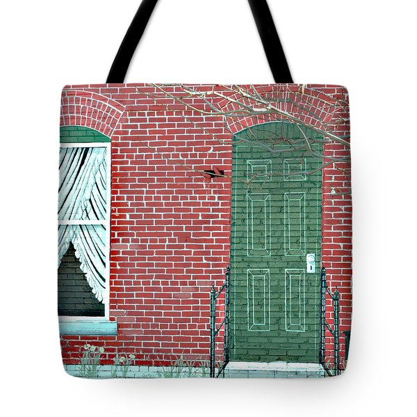 Come On In Tote Bag by Linda Cox