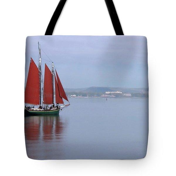 Come Sail Away Tote Bag by Karol Livote