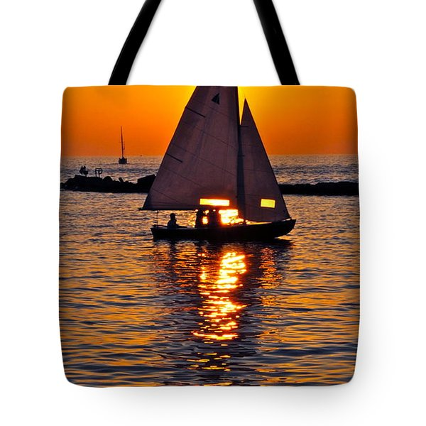 Come Sail Away With Me Tote Bag by Frozen in Time Fine Art Photography