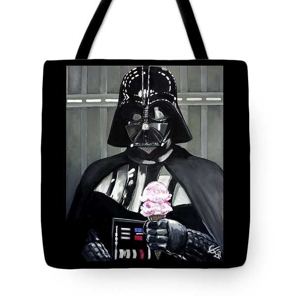 Come To The Dark Side... We Have Ice Cream. Tote Bag