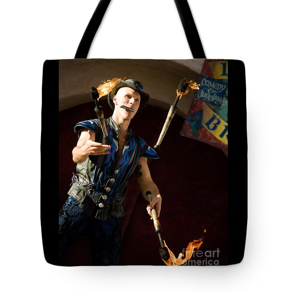 Comedy Juggling Tote Bag