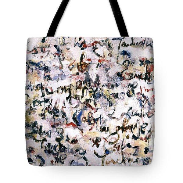 Comfort - Calins Tote Bag